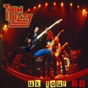 Thin Lizzy - UK Tour '75 cover art