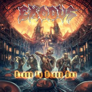 Exodus - Blood In, Blood Out cover art