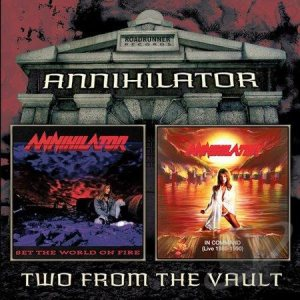 Annihilator - Set the World on Fire / in Command (Live 1989-1990) cover art