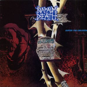Napalm Death - Suffer the Children cover art