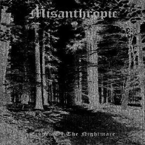 Misanthropic - Echoes of the Nightmare cover art