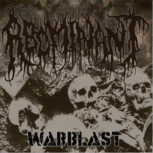 Abominant - Warblast cover art