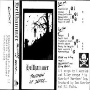 Hellhammer - Triumph of Death cover art
