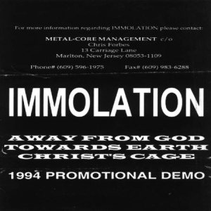 Immolation - 1994 Promotional Demo cover art
