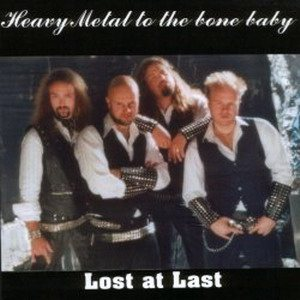 Lost at Last - Heavy Metal to the Bone Baby cover art