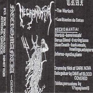 Necromantia - Demo 93 cover art