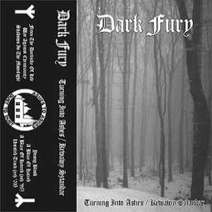Dark Fury - Turning Into Ashes/Krwawy Sztandar cover art