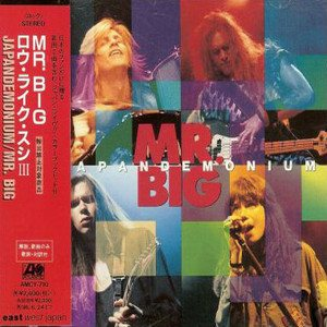 Mr.big - Japandemonium cover art