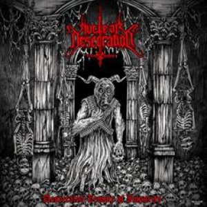 Nuclear Desecration - Desecrated Temple of Impurity cover art