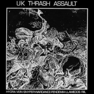 Hydra Vein - UK Thrash Assault cover art