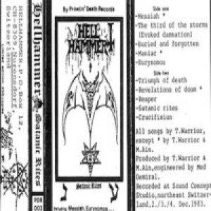 Hellhammer - Satanic Rites cover art