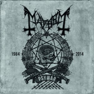 Mayhem - Psywar cover art