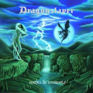 Dragonslayer - Noches de tormenta cover art