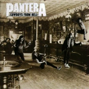 Pantera - Cowboys From Hell cover art