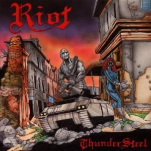 Riot - Thundersteel cover art