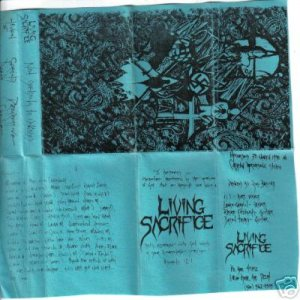 Living Sacrifice - Not Yielding to Ungodly cover art