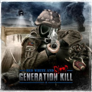 Generation Kill - Red, White and Blood cover art