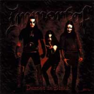 Immortal - Damned in Black cover art