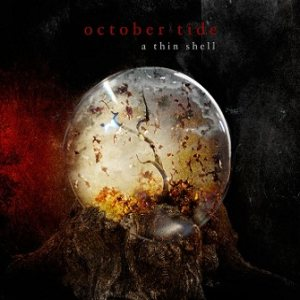October Tide - A Thin Shell cover art