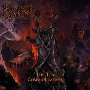 Malevolent Creation - The Ten Commandments cover art
