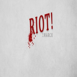Claps For Caroline - RIOT! cover art