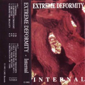 Extreme Deformity - Internal cover art