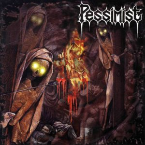 Pessimist - Blood for the Gods cover art