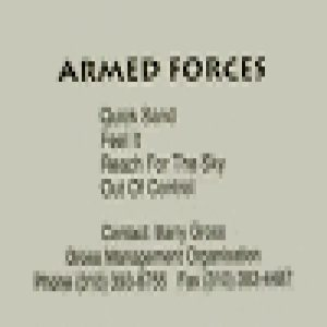 Armed Forces - Demo '87 cover art