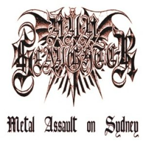 Nunslaughter - Metal Assault on Sydney cover art