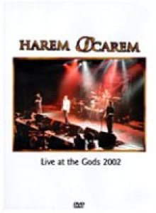 Harem Scarem - Live At the Gods 2002 cover art