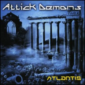 Attick Demons - Atlantis cover art