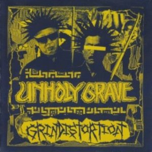 Unholy Grave - Untitled / Grindistortion cover art