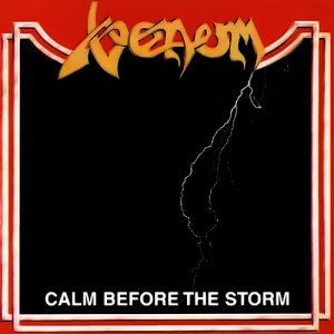 Venom - Calm Before the Storm cover art