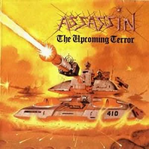 Assassin - The Upcoming Terror cover art