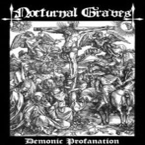 Nocturnal Graves - Demonic Profanation cover art