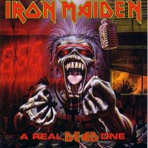 Iron Maiden - A Real Dead One cover art