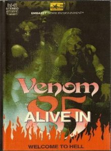 Venom - Alive in '85 cover art