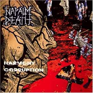 Napalm Death - Harmony Corruption cover art
