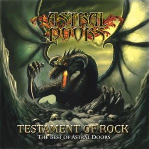 Astral Doors - Testament of Rock - the Best of Astral Doors cover art