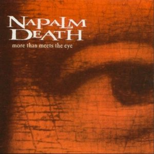 Napalm Death - More Than Meets the Eye cover art
