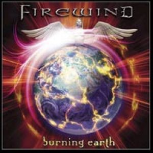 Firewind - Burning Earth cover art