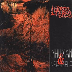 Lunatic Gods - Inhuman and Insensible cover art
