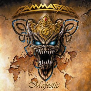 Gamma Ray - Majestic cover art