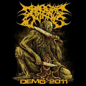 Dragging Entrails - Demo 2011 cover art