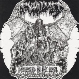Exhumed / Aborted - Deceased in the East / Extirpated Live Emanations cover art