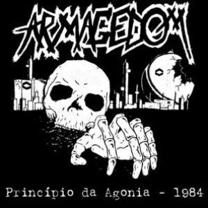 Armagedom - Pricipio da Agonia - 1984 cover art