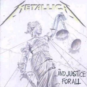 Metallica - ...And Justice for All cover art