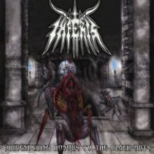 Inferis - Surrendering Honors to the Black Arts cover art