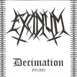 Excidium - Decimation cover art