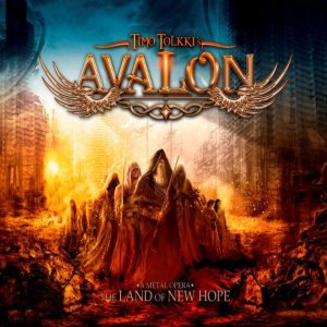 Timo Tolkki's Avalon - The Land of New Hope cover art